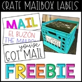 Crate Mailbox Labels