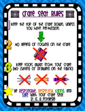 Crate Seat Rules Poster - Flexible / Alternative Seating