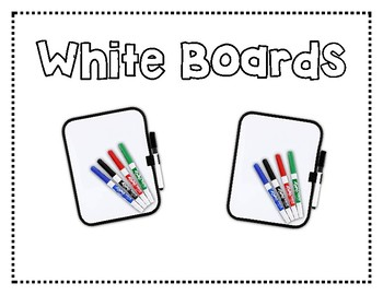 Crate labels for Classroom