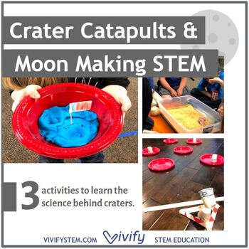 Crater Catapults and Moon Science STEM