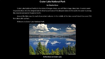 Crater Lake National Park PowerPoint