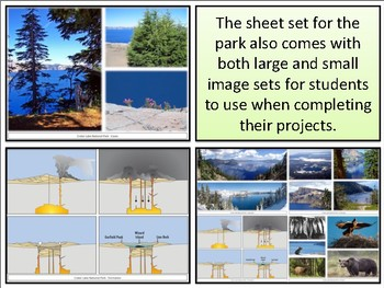 Crater Lake National Park : Project Materials