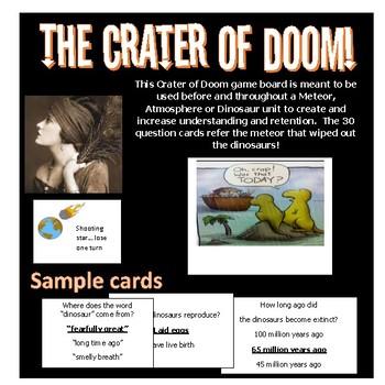 Crater of Doom Educational & fun game