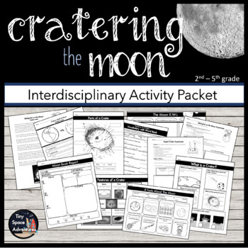 Cratering the Moon (Common Core ELA/Math & NGSS)