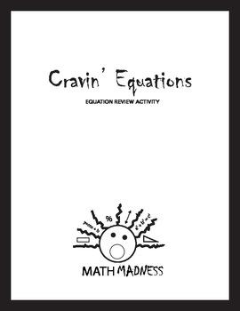 Craving Equations - Math Equation Review