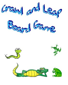 Crawl and Leap Board game