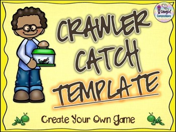 Crawler Catch Template  - Create Your Own Game