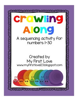 Crawling Along: Sequencing Numbers 1-30