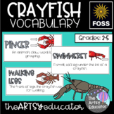 Crayfish Vocabulary and Word Wall Cards - FOSS Structures of Life