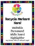 Crayola Colorcycle Box Label