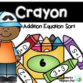 Crayon Addition Sort