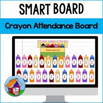 Crayon Attendance Board