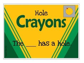 Crayon Attributes Sorting Fun