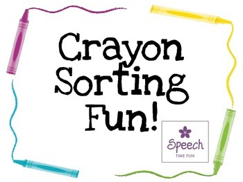 Crayon Attributes Sorting Fun