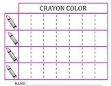 Crayon Bar Graph