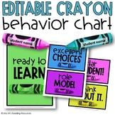 Crayon Behavior Chart