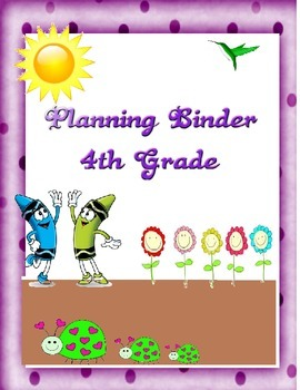 Crayon Binder Covers