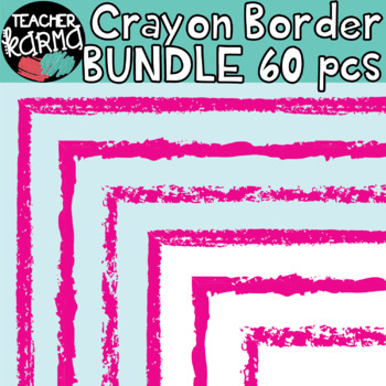 Crayon Border BUNDLE