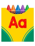 Crayon Box ABC for Wordwall