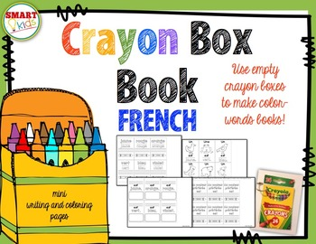 Crayon Box Book FRENCH Version