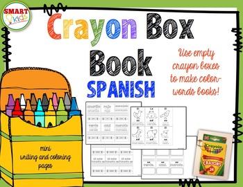 Crayon Box Book SPANISH Version
