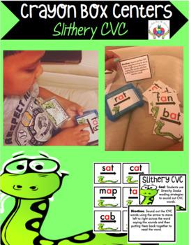 Crayon Box Centers -CVC
