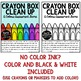 Crayon Box Clean Up! File Folder Assessment Game [Colors]