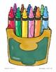 Crayon Box--Color Words