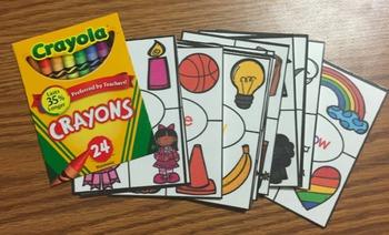 Crayon Box Color Words Book