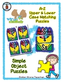 Crayon Box - Coloring - Alphabet / Letter Puzzles - Simple