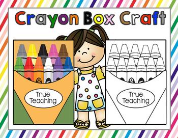 Crayon Box Craft