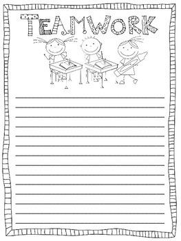 Crayon Box Craftivity:  A Team Building Activity (Back to School Craftivity)