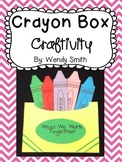 Crayon Box Craftivity:  A Team Building Activity (Back to