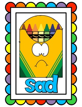 Crayon Box Feelings Posters