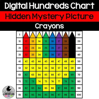 Crayon Box Hundreds Chart Hidden Picture Activity For Back