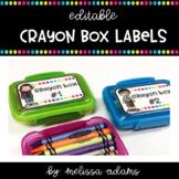 Crayon Box Labels