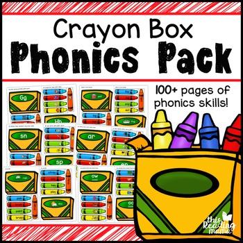 Crayon Box Phonics Pack