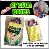 Crayon Box Template FREEBIE