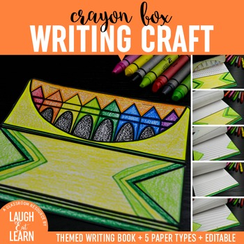 Crayon Box Writing Craft