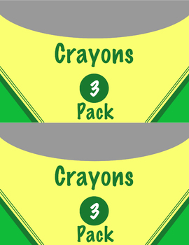 Crayon Boxes Classroom Management Tool