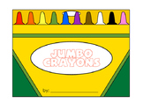 Crayon Boxes - Coloring, Tracing, Writing, Reading Practice for Primary Grades