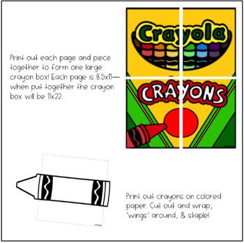 Crayon Bulletin Board