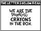 Crayon Bulletin Board Template