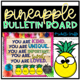 Pineapple Bulletin Board Template