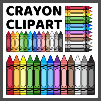 Crayon Clip Art For Commercial Use 350 Images By Language Party House