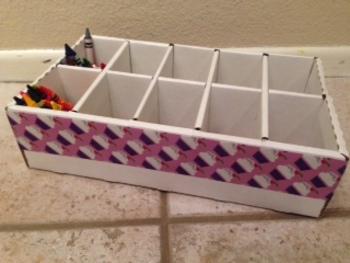 Crayon Caddy Craft Organizer