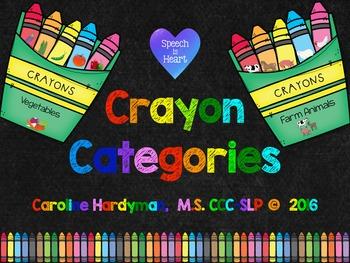 Crayon Categories