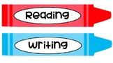 Crayon Classroom tags