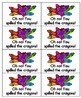 Crayon Clean-Up Sight Words! Bundle of Fry Lists 1-3