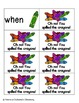 Crayon Clean-Up Sight Words! First Grade List Pack